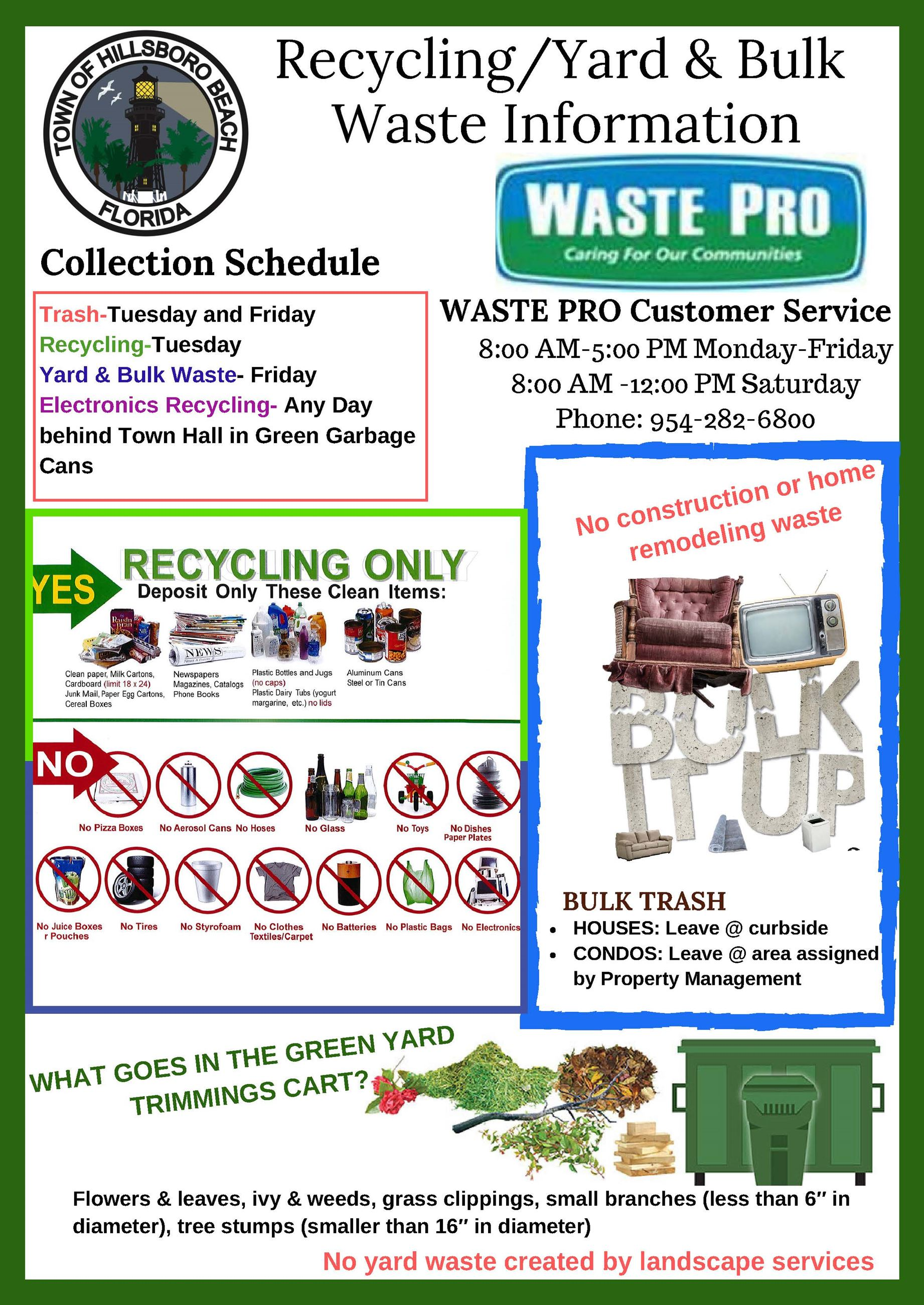Revised Recycle Flyer
