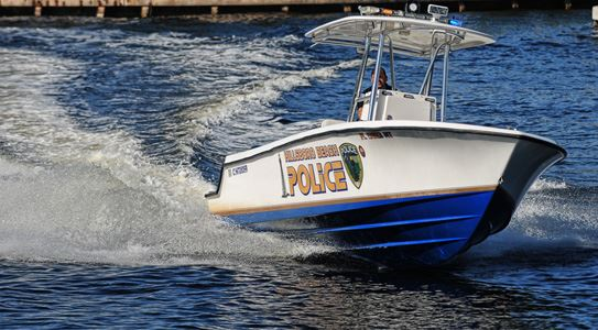 Hillsboro Beach Police Department Boat